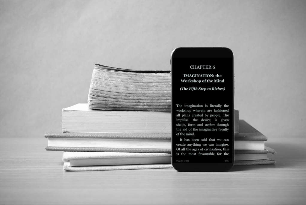 Books and iPhone