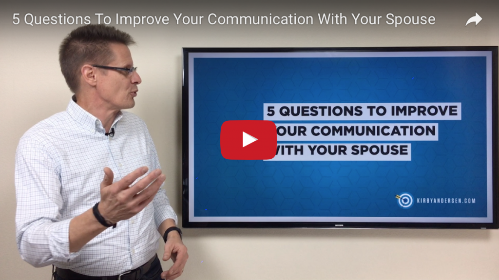 5 Questions To Improve Your Communication With Your Spouse